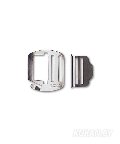Пряжка стальная, толщина 2 мм