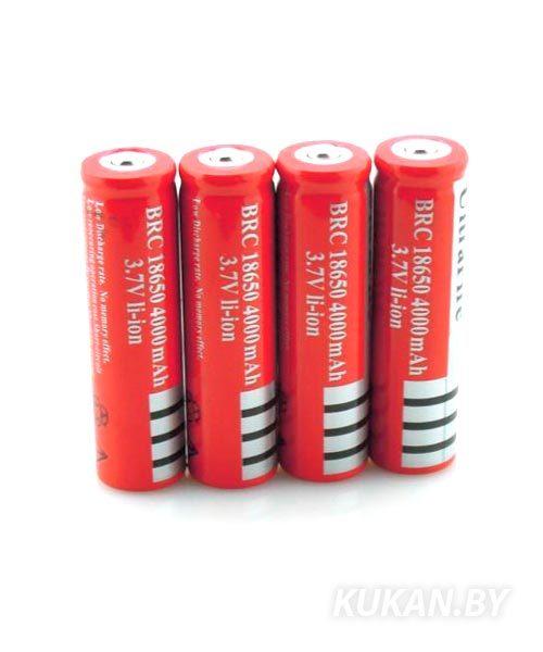 Аккумулятор UltraFire 18650 3.7V 4000mAh
