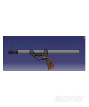 Подводное ружье Pelengas Magnum Plus 55 со смещением 1/3