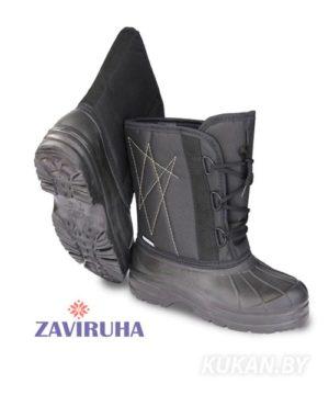 Сапоги мужские комбинированные Zaviruha